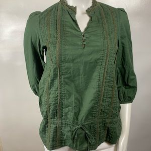 3For$20 Sanctuary Army Green Top Size: XS